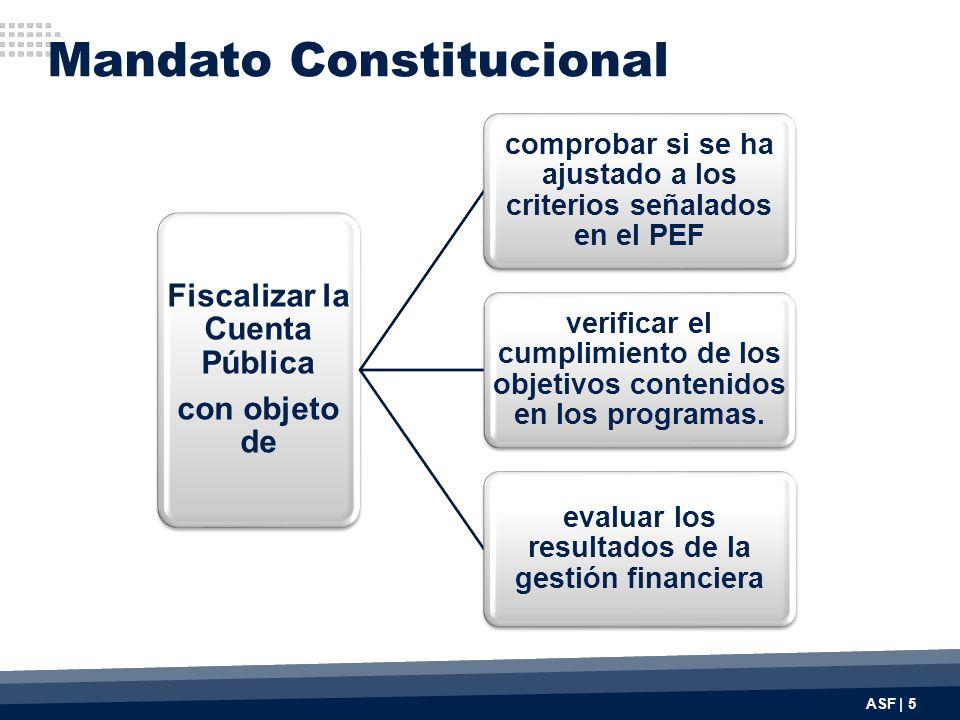 Fiscalizar la Cuenta Pública con objeto de comprobar si se ha ajustado a los criterios señalados en el PEF verificar el cumplimiento de los objetivos contenidos en los programas.