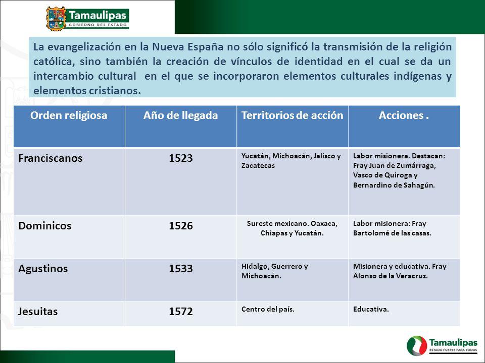 La evangelización en la Nueva España no sólo significó la transmisión de la religión católica, sino también la creación de vínculos de identidad en el