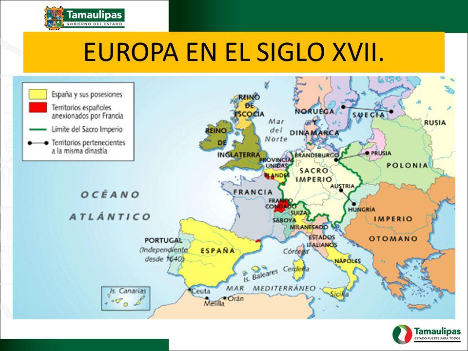 EUROPA EN EL SIGLO XVII.