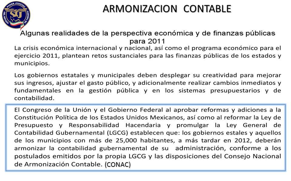 ARMONIZACION CONTABLE (CONAC)