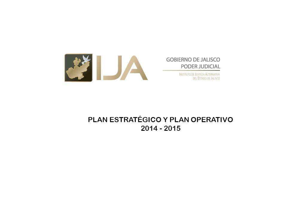 PLAN ESTRATÉGICO Y PLAN OPERATIVO 2014 - 2015