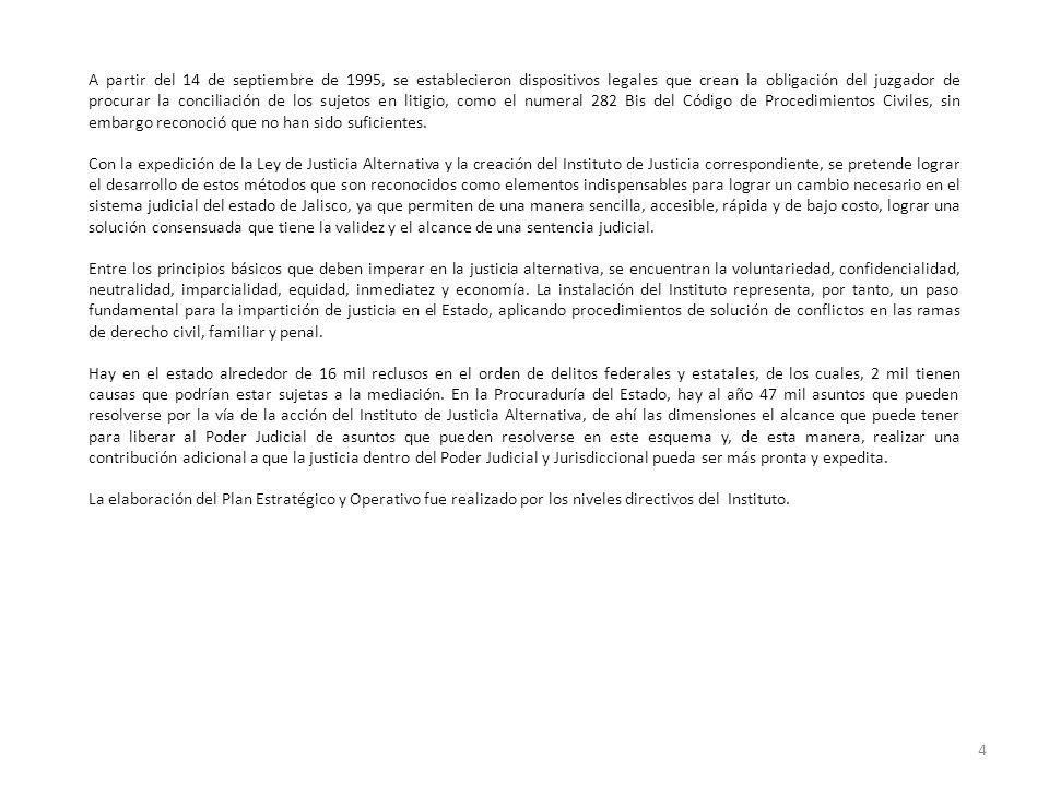 A partir del 14 de septiembre de 1995, se establecieron dispositivos legales que crean la obligación del juzgador de procurar la conciliación de los s