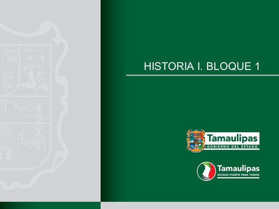 HISTORIA I. BLOQUE 1