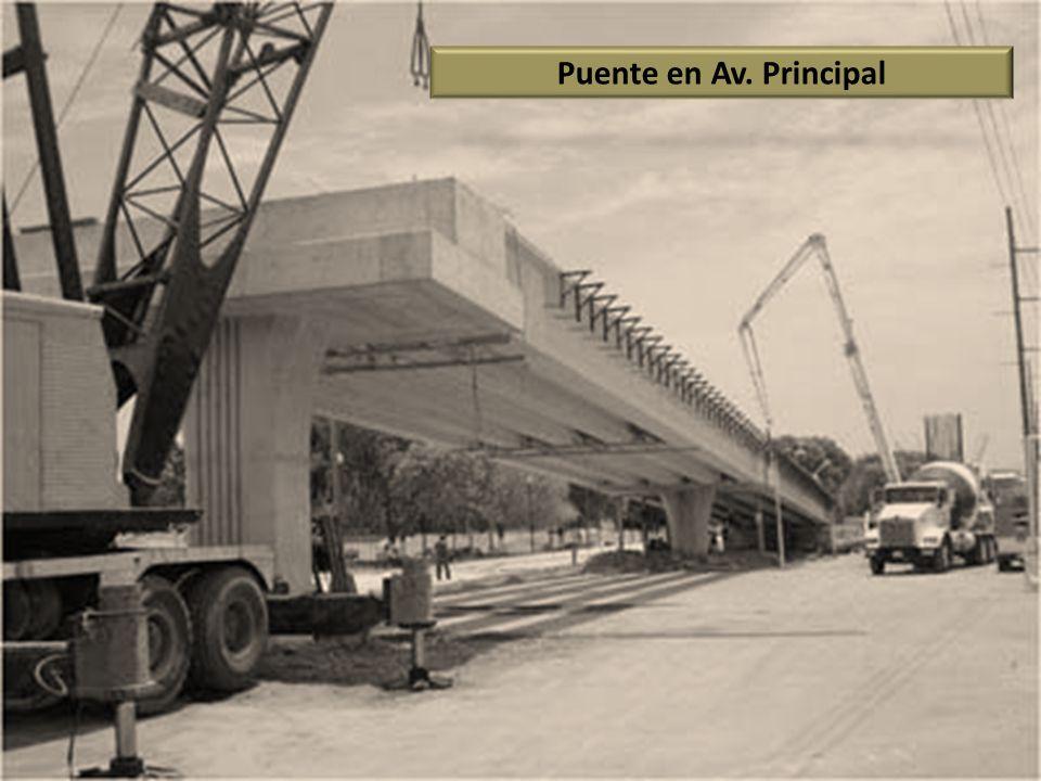 Puente en Av. Principal