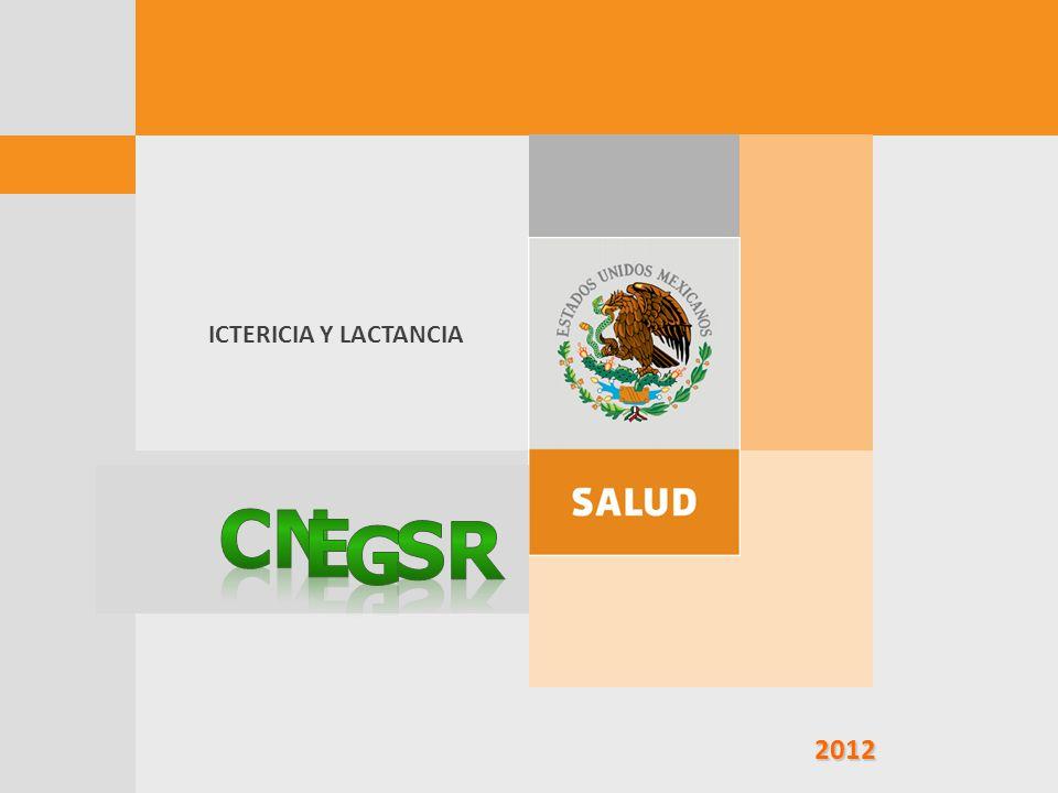 2012 2012 ICTERICIA Y LACTANCIA
