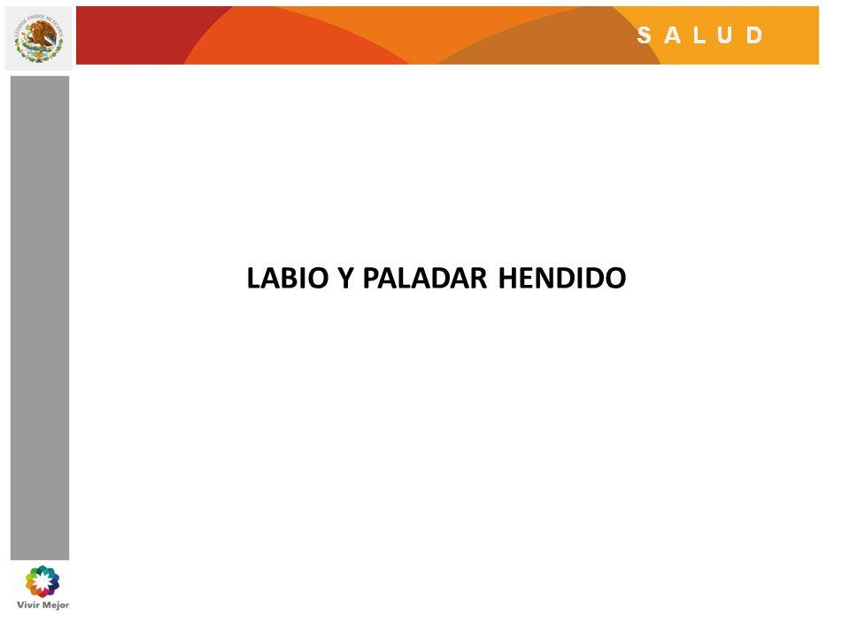 LABIO Y PALADAR HENDIDO
