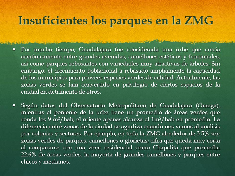Por mucho tiempo, Guadalajara fue considerada una urbe que crecía armónicamente entre grandes avenidas, camellones estéticos y funcionales, así como p