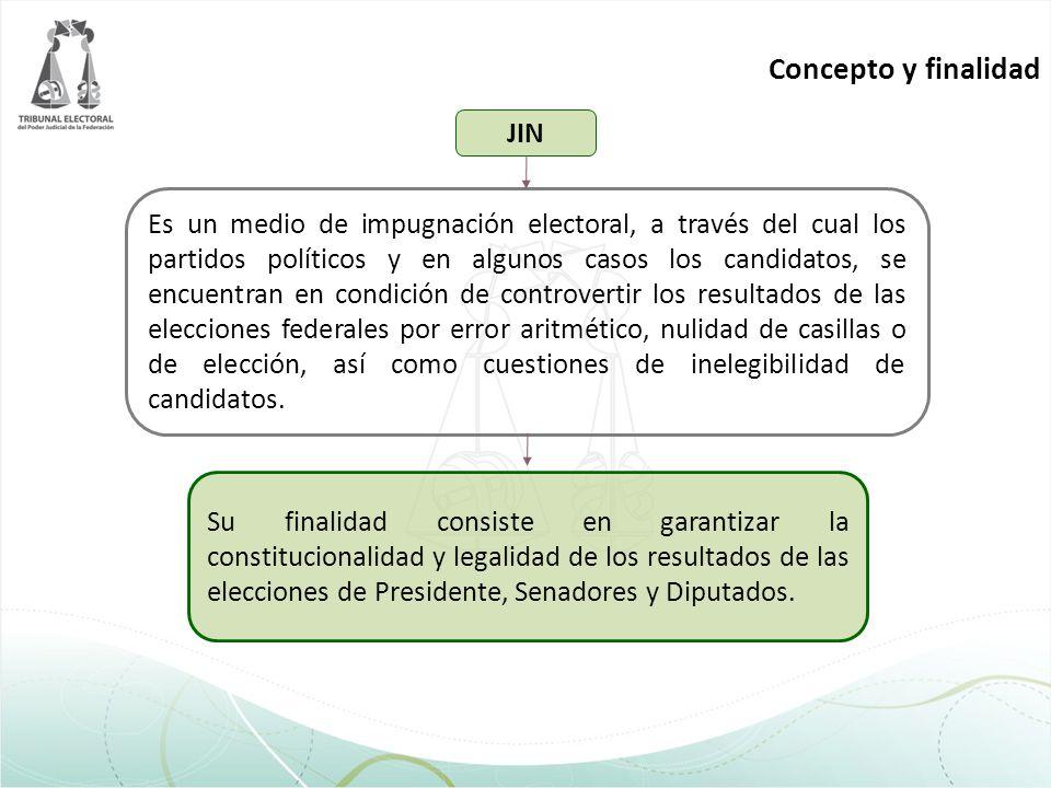 Es un medio de impugnación electoral, a través del cual los partidos políticos y en algunos casos los candidatos, se encuentran en condición de contro