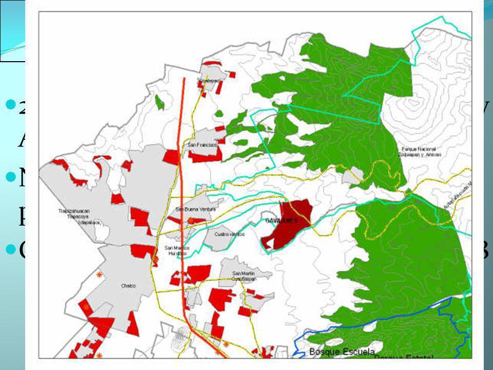 Plan parcial de Ixtapaluca 23,000 viviendas sobre ANP Ixta- Popo y Anexas No se entiende de dónde vendrá el agua para 120,000 nuevos habitantes Gira la denuncia a la PROPAEM en 2008