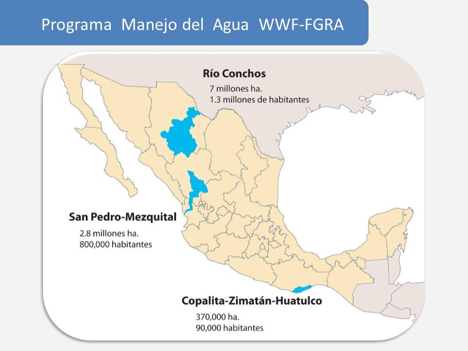 Río Conchos Desierto Chihuahuense Sequía 90´s 522 Hm3 ahorros agua Suficiente para establecer el caudal ecológico Acuerdo para celebrar el Día del Río