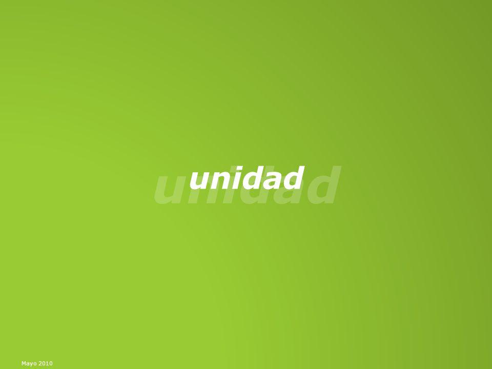 Unidad Mayo 10 a 14