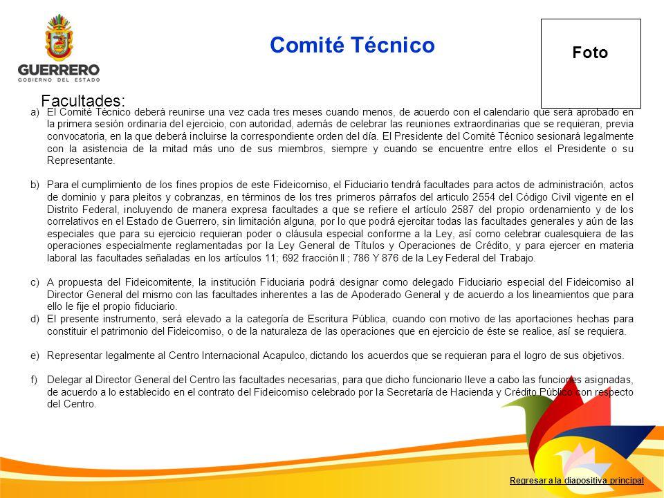 g)Sesionar periódicamente en el Puerto de Acapulco o en la Ciudad de México, D.F., de acuerdo a lo dispuesto en el reglamento respectivo.