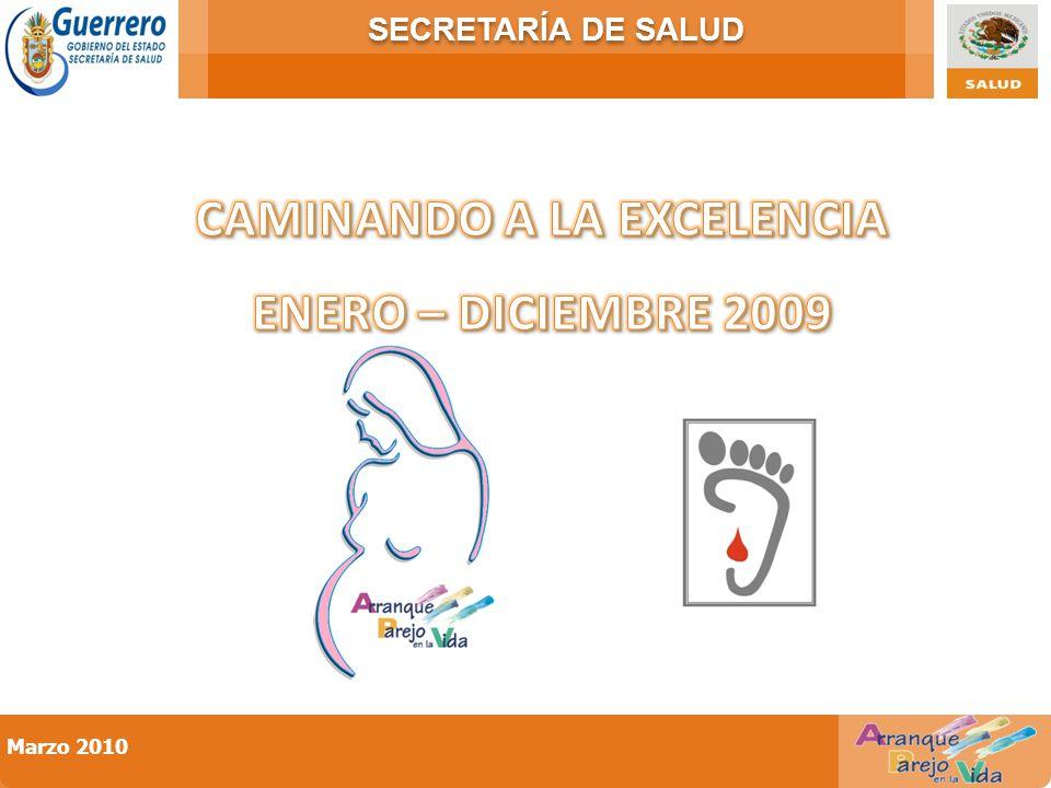SECRETARÍA DE SALUD Marzo 2010