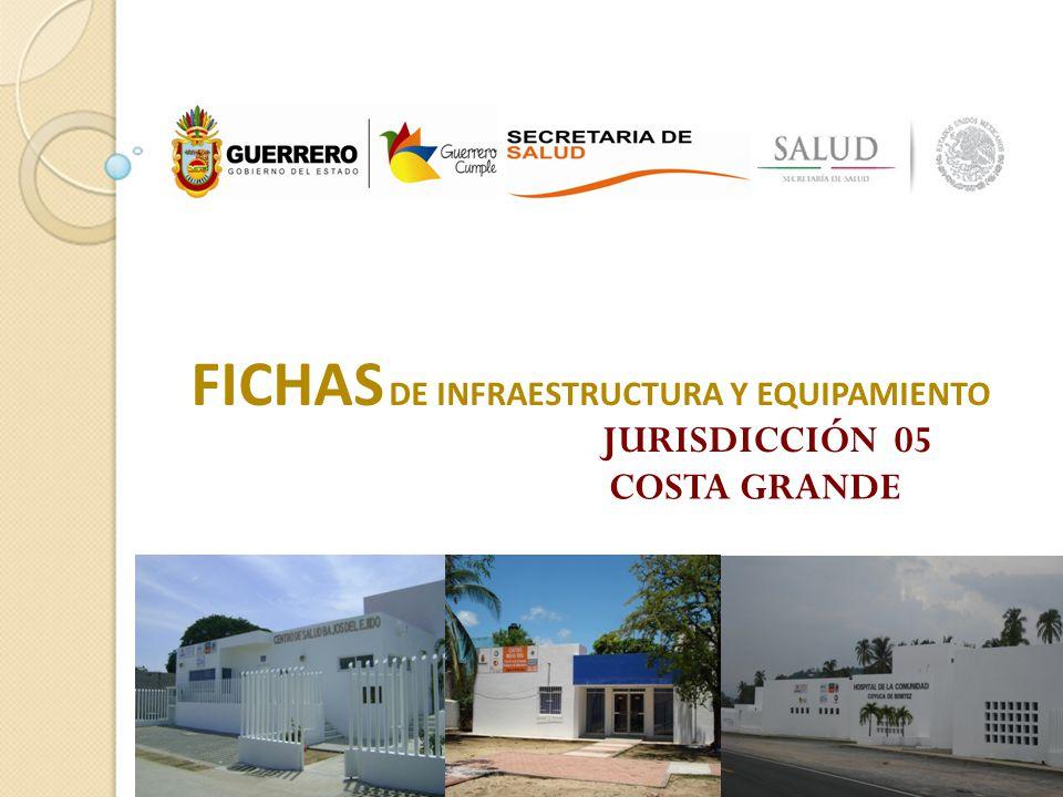 FICHAS DE INFRAESTRUCTURA Y EQUIPAMIENTO JURISDICCIÓN 05 COSTA GRANDE