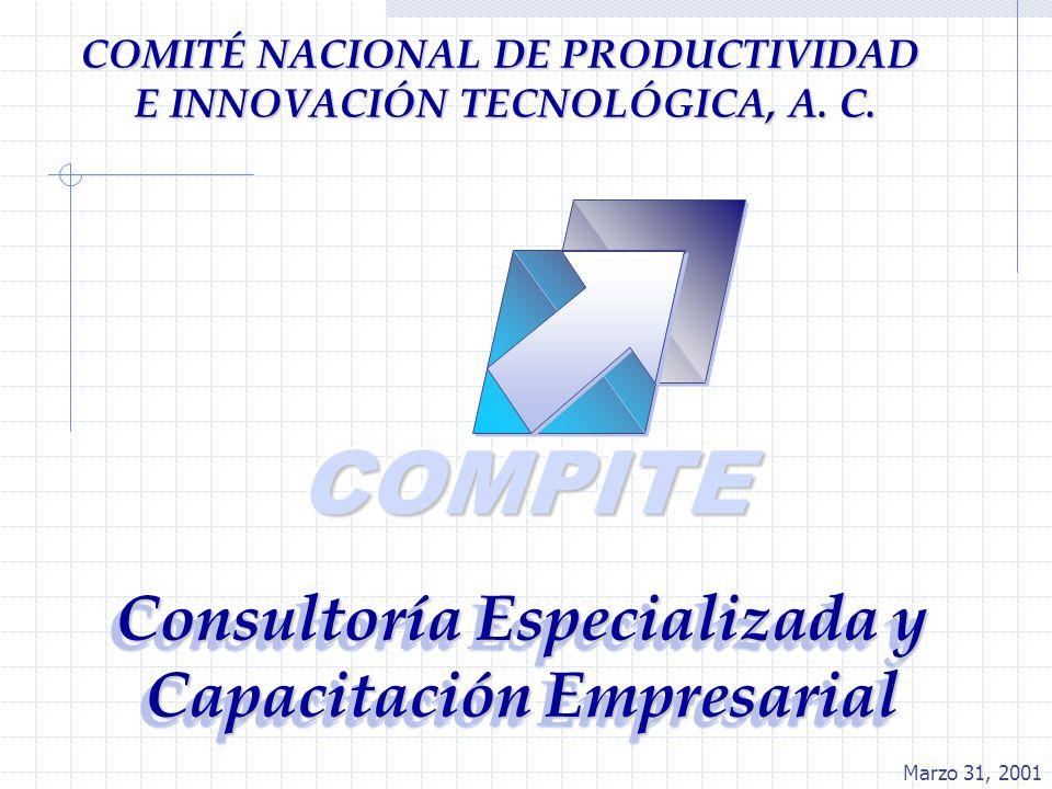COMPITECOMPITE Consultoría Especializada y Capacitación Empresarial COMITÉ NACIONAL DE PRODUCTIVIDAD E INNOVACIÓN TECNOLÓGICA, A. C. Marzo 31, 2001