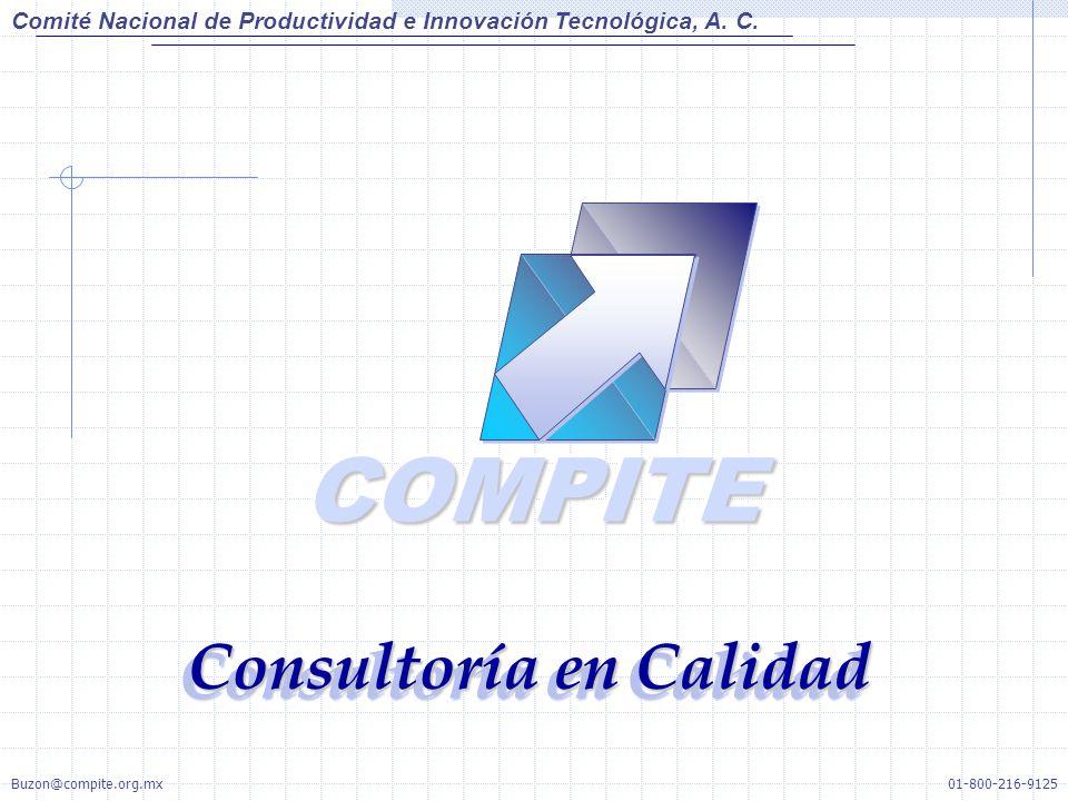 COMPITECOMPITE Consultoría en Calidad Comité Nacional de Productividad e Innovación Tecnológica, A. C. 01-800-216-9125Buzon@compite.org.mx