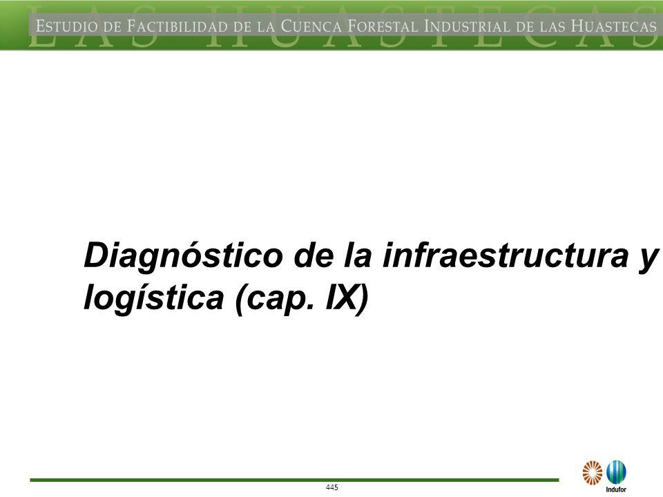 445 Diagnóstico de la infraestructura y logística (cap. IX)