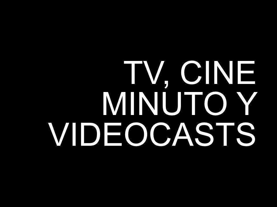 7 TV, CINE MINUTO Y VIDEOCASTS