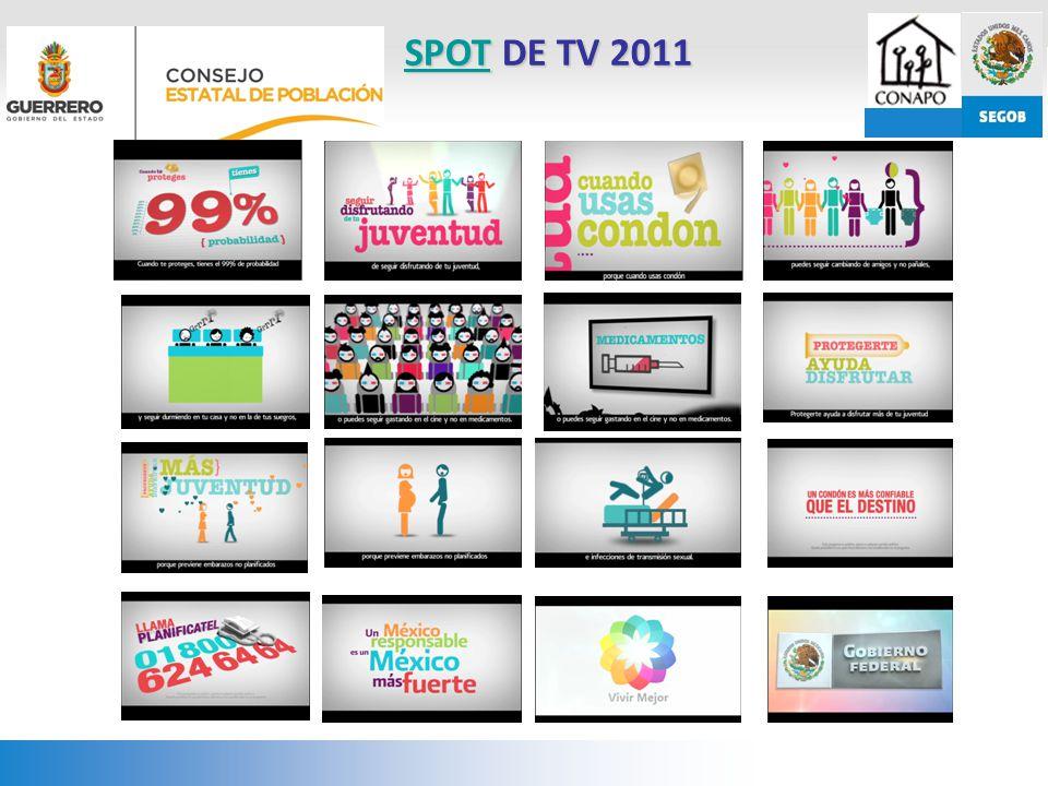 SPOTSPOT DE TV 2011 SPOT