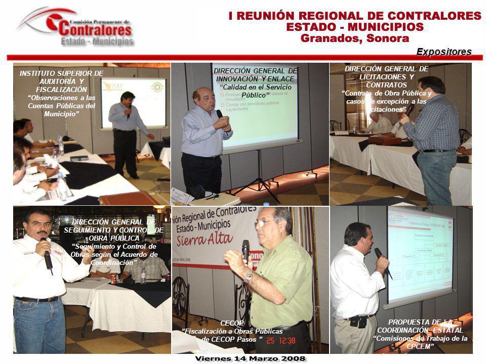 Clausura del Evento EL PRESIDENTE MUNICIPAL DE GRANADOS, LIC.
