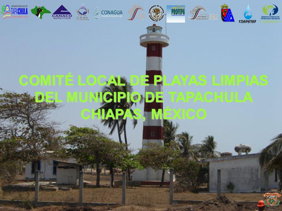 COMITÉ LOCAL DE PLAYAS LIMPIAS DEL MUNICIPIO DE TAPACHULA CHIAPAS, MÉXICO