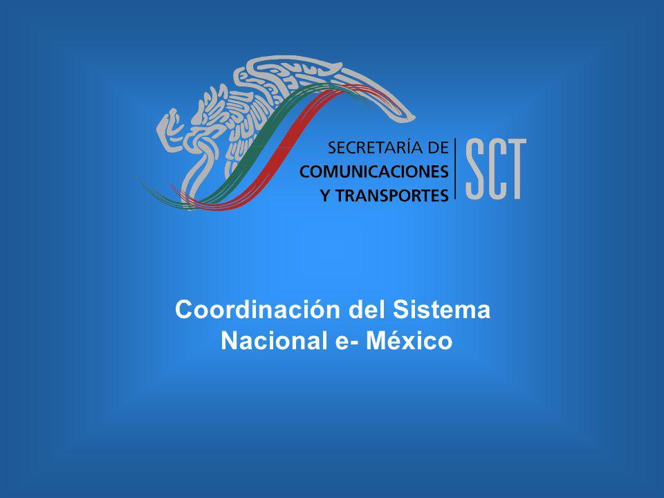 Coordinación del Sistema Nacional e- México