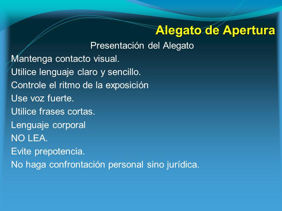 TESTIMONIO El Testimonio.Preparar al Testigo La información debe ser la más clara y la mejor.