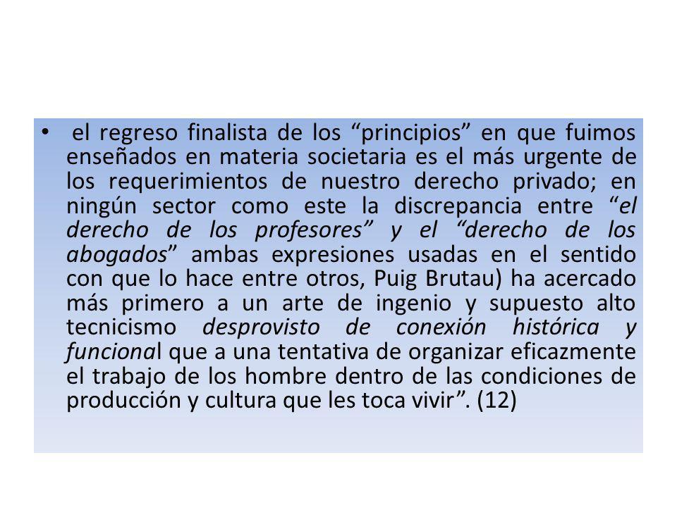 DERECHO, CIENCIAS JURÍDICAS Y EL PRINCIPIO DOGMATICO DEL CONCEPTO DE EMPRESA.