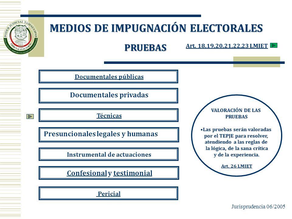 PRUEBAS Documentales públicas Documentales privadas Técnicas Presuncionales legales y humanas Instrumental de actuaciones Confesional y testimonialCon