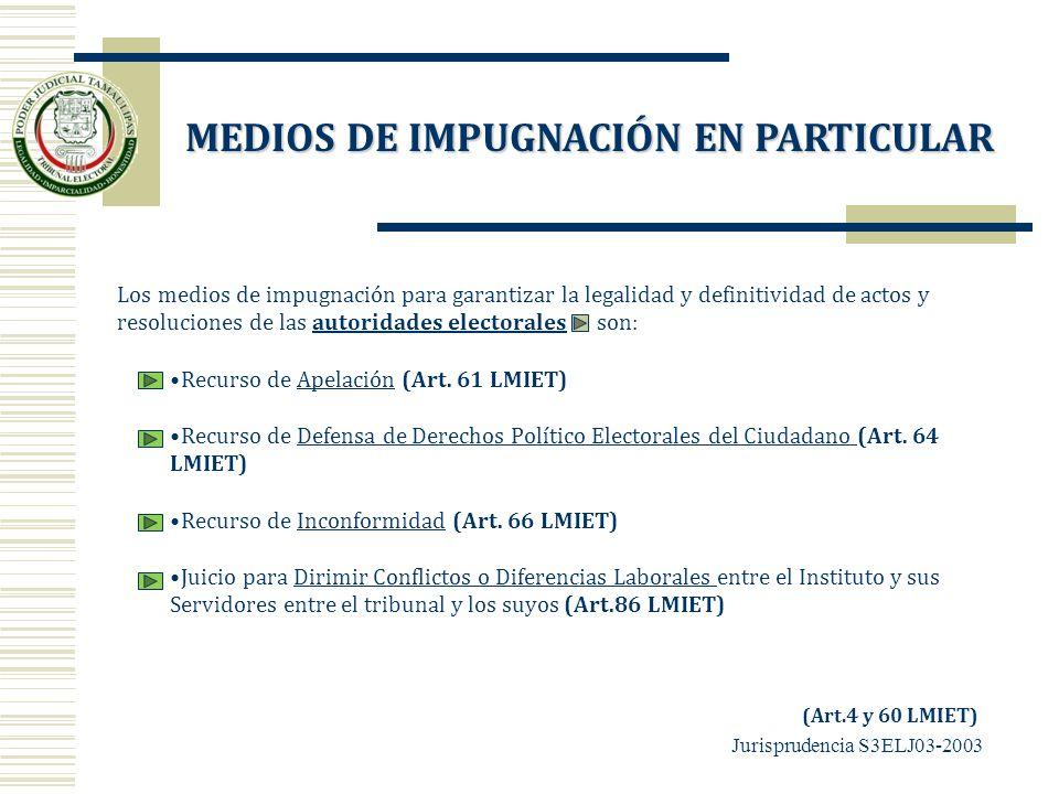 Los medios de impugnación para garantizar la legalidad y definitividad de actos y resoluciones de las autoridades electorales son:autoridades electora