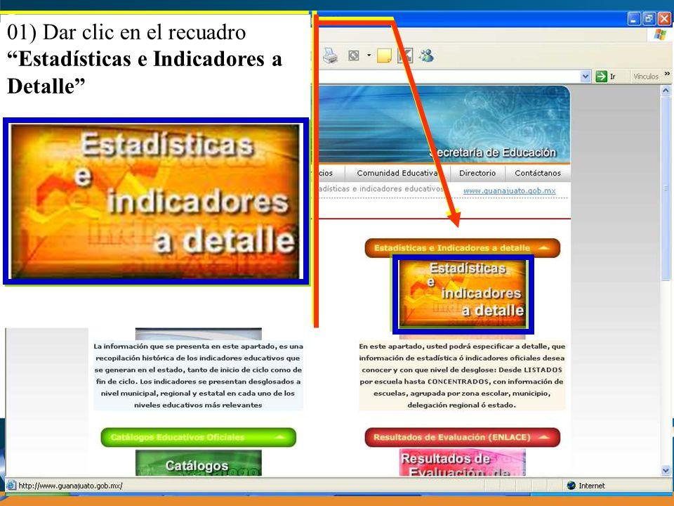 5) Para seleccionar la información del(los) ciclo(s) escolar(es), a) Dar clic en el botón 5) Para seleccionar la información del(los) ciclo(s) escolar(es), a) Dar clic en el botón