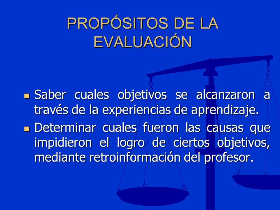 EVALUACIÓN EDUCATIVA Como se mencionó anteriormente, la evaluación es integral porque toma en cuenta las áreas cognoscitiva, psicomotora y afectiva.