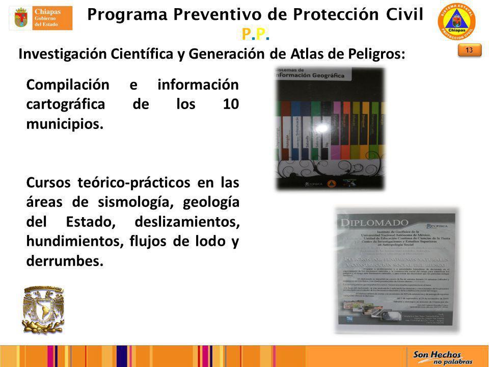 13 Programa Preventivo de Protección Civil P.P.