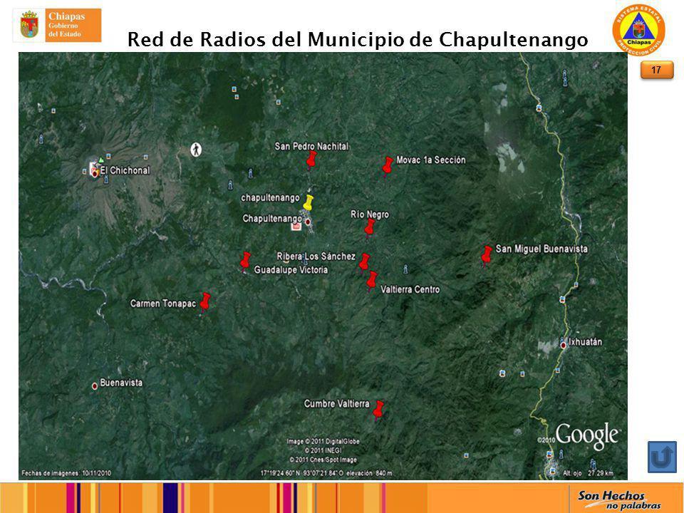 17 Red de Radios del Municipio de Chapultenango