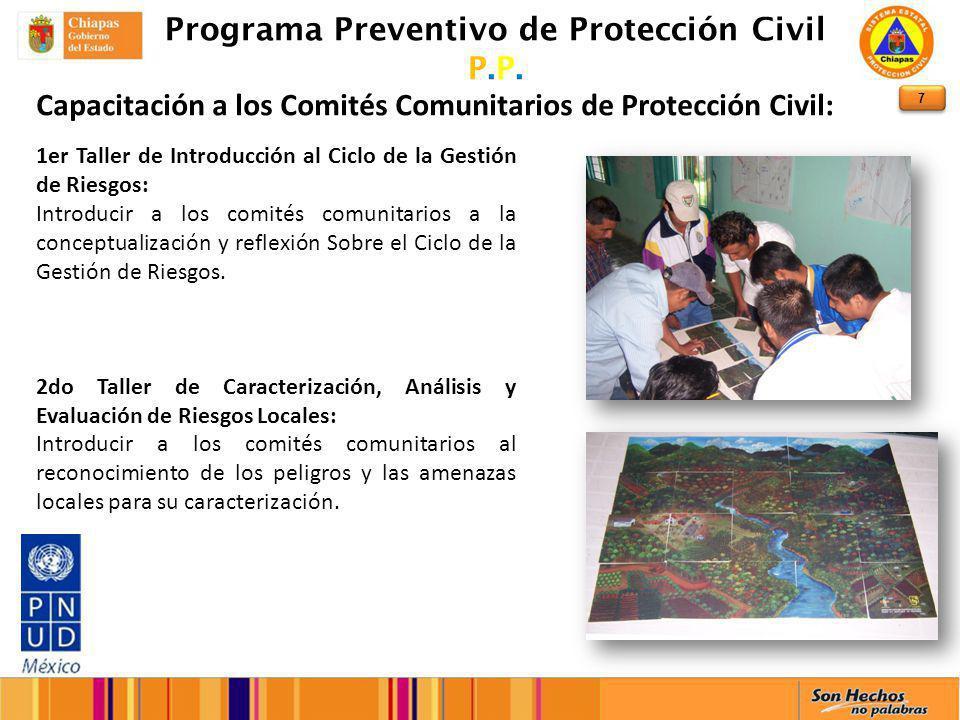 7 Programa Preventivo de Protección Civil P.P.