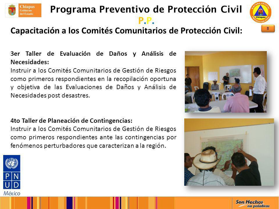 8 Programa Preventivo de Protección Civil P.P.