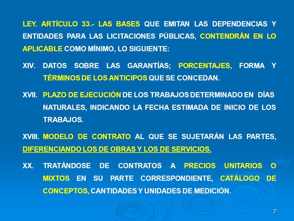 28 SUSPENSIÓN POR CASO FORTUITO O FUERZA MAYOR CUANDO LAS SUSPENSIONES SE DERIVEN DE UN CASO FORTUITO O FUERZA MAYOR, SÓLO SERÁ PROCEDENTE EL PAGO DE GASTOS NO RECUPERABLES POR LOS CONCEPTOS ENUNCIADOS EN LAS FRACCIONES III, IV Y V DEL ARTÍCULO 116 DEL REGLAMENTO, SALVO QUE EN LAS BASES DE LICITACIÓN Y EN EL CONTRATO CORRESPONDIENTE SE PREVEA OTRA SITUACIÓN.