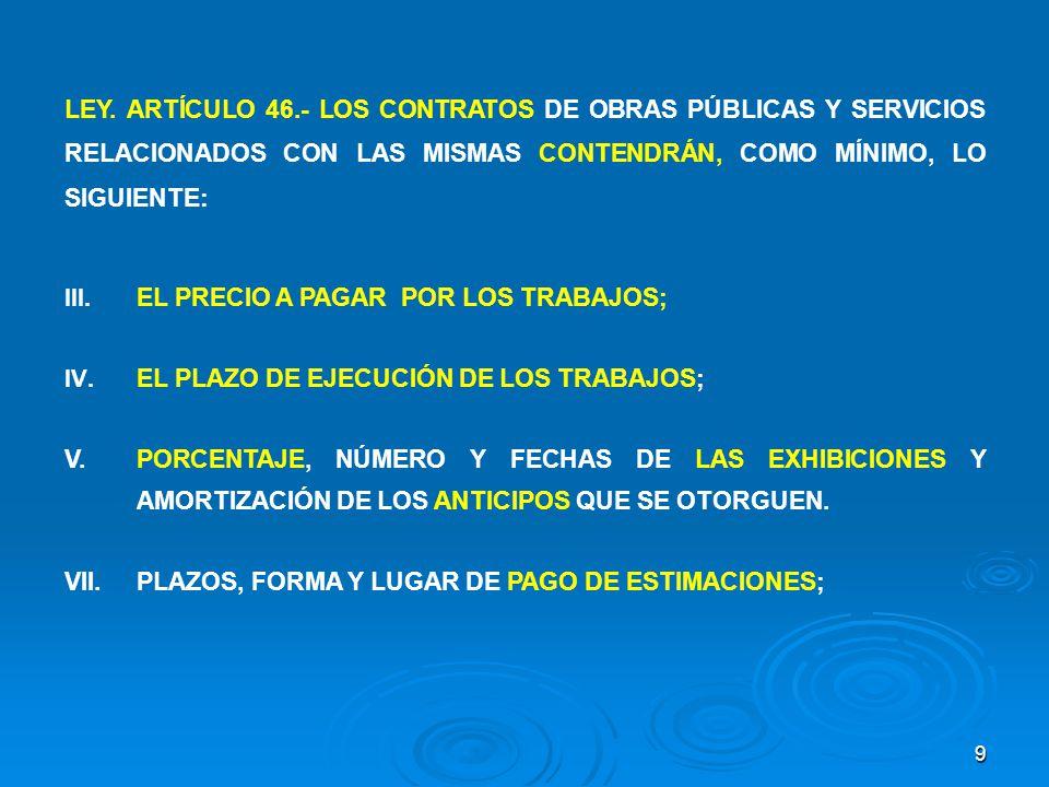 20 IMPORTANCIA DE LA BITÁCORA LEY.