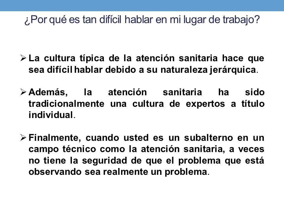 Aspectos clave de la cultura de seguridad Liderazgo Activo.