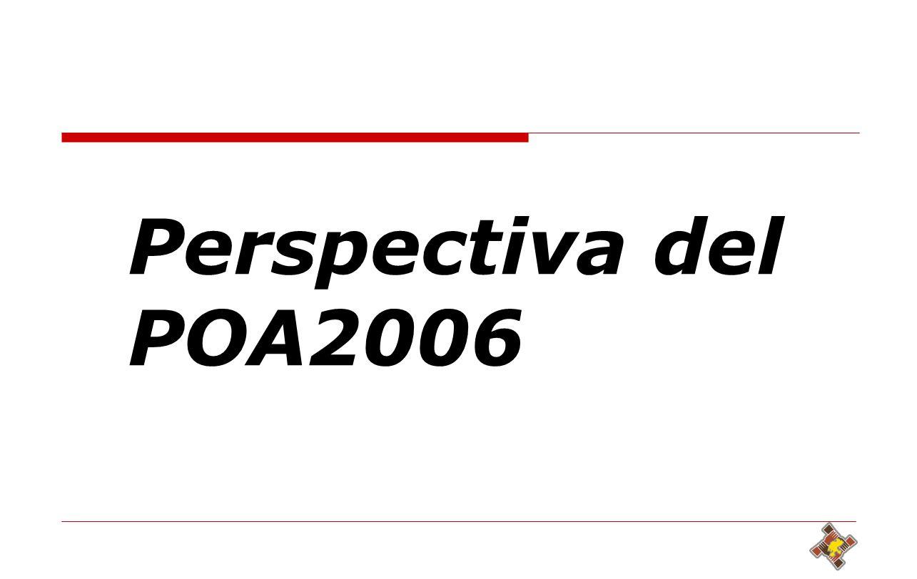 26 Perspectiva del POA2006
