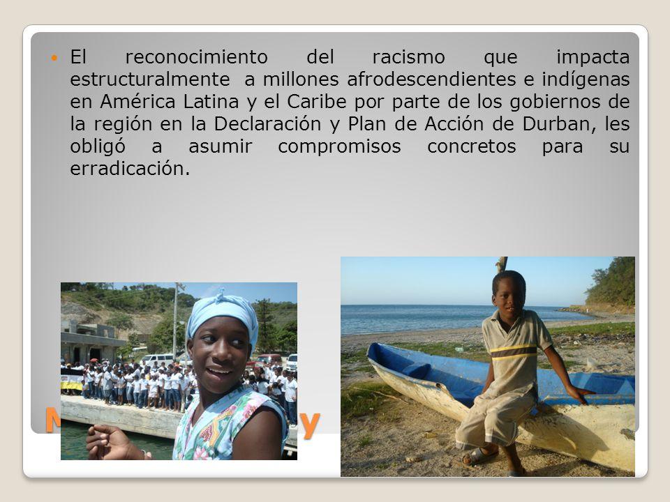 Marcus Garvey El reconocimiento del racismo que impacta estructuralmente a millones afrodescendientes e indígenas en América Latina y el Caribe por pa