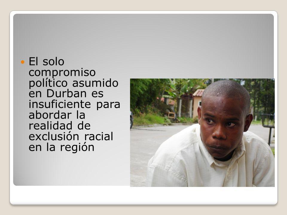 Marcus Garvey América Latina es la región más desigual del mundo.