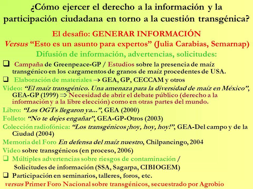 Web: www.gea-ac.org Grupo de Estudios Ambientales, A.C.