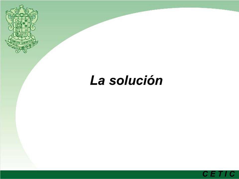 C E T I C La solución