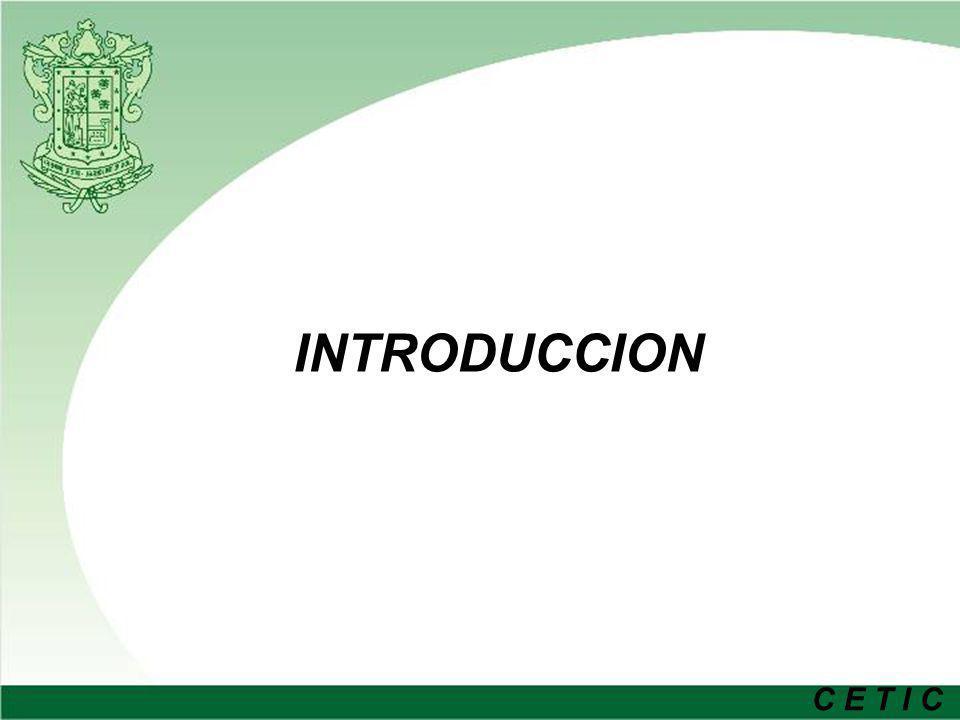 C E T I C Antecedentes Se cuenta con infraestructura de comunicaciones propia – Red metropolitana Deficientes servicios de comunicación de voz de y entre las diferentes dependencias (Líneas, aparatos telefónicos, facilidades).