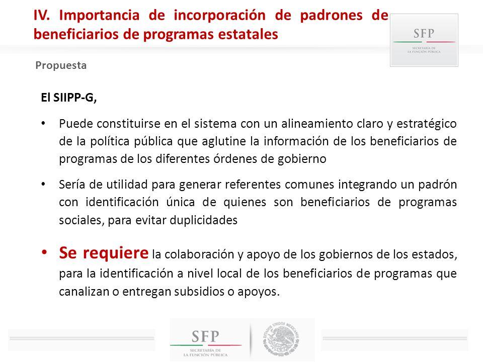 El SIIPP-G, Puede constituirse en el sistema con un alineamiento claro y estratégico de la política pública que aglutine la información de los benefic
