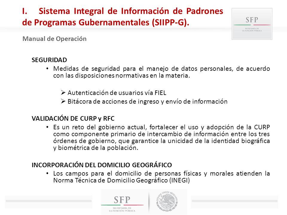 SEGURIDAD Medidas de seguridad para el manejo de datos personales, de acuerdo con las disposiciones normativas en la materia. Autenticación de usuario