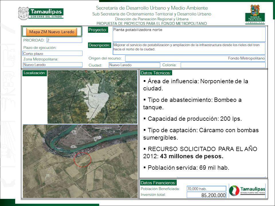 CARCAMO TANQUE DE AGUAS CLARAS C.C.M.