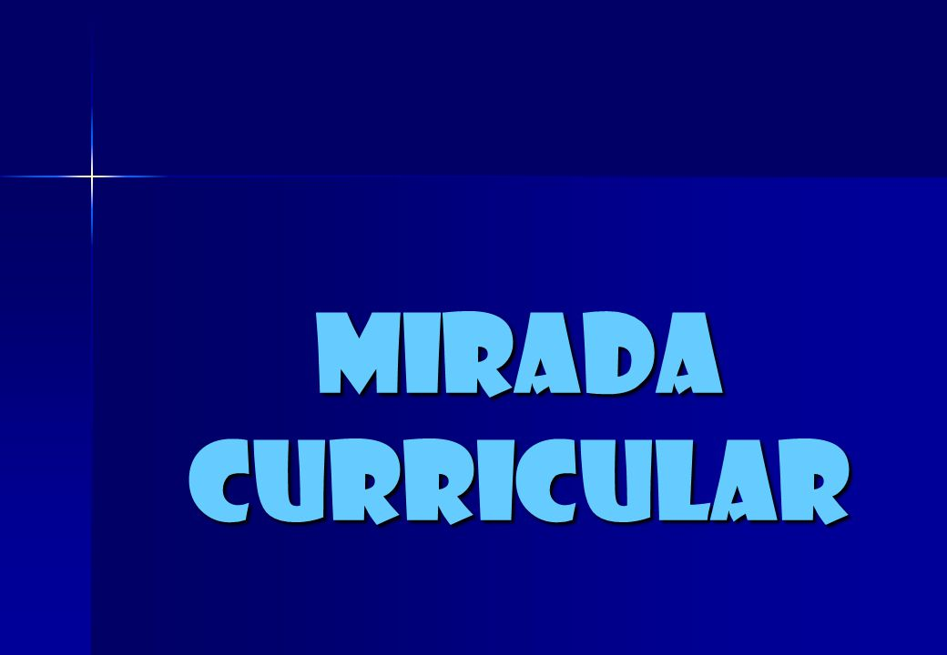 miradacurricular