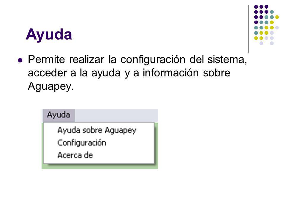 Analíticas En Aguapey la hoja de analíticas es común a todos los soportes.